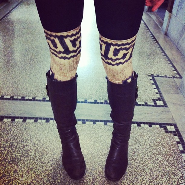 A sneak peek at our thigh highs!
