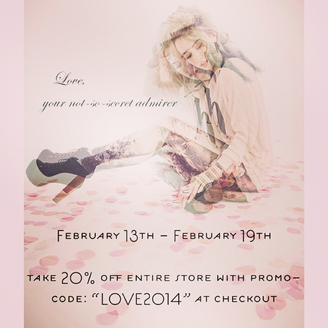 Be my Valentine? Don't miss out super sweet sale!!