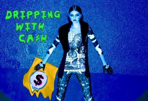 Dripping with Cash blue - new low prices