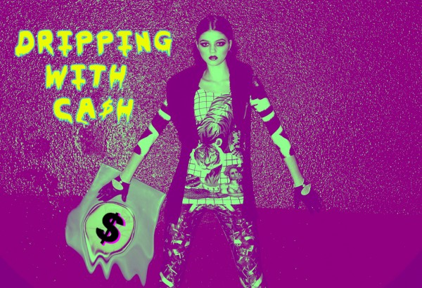 Dripping with Cash purple - new low prices