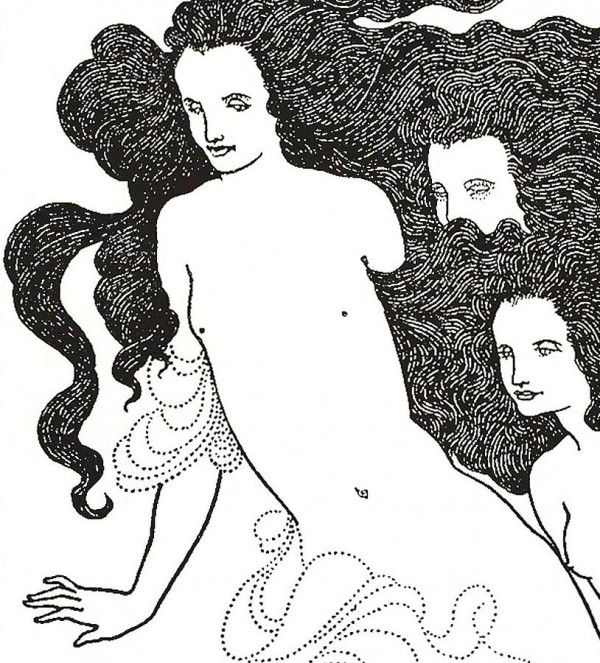 the-comedy-of-the-rhinegold-aubrey-beardsley